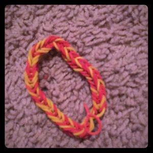Jewelry - Loomed rubber band bracelet